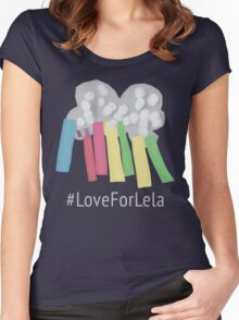 #LoveForLela Women's Fitted Scoop T-Shirt