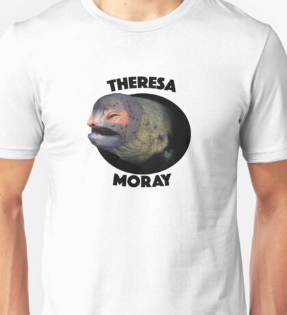 Theresa Moray Eel Unisex T-Shirt
