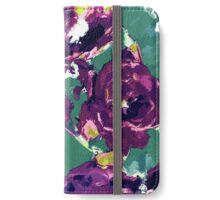 Purple Peonies iPhone Wallet/Case/Skin