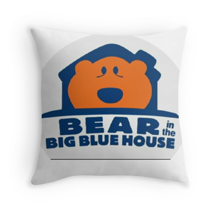 Big Blue Throw Pillows :