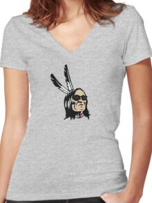 Traditions Never Die Women's Fitted V-Neck T-Shirt