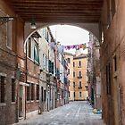 Venice archway by Vicki Moritz