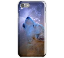 Fantasy Wolf and Moon iPhone Case/Skin