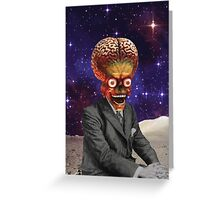 Funny brains Greeting Card