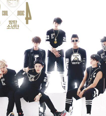 BTS - 2 Cool 4 Skool Sticker