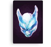 Mewtwo Polygonal Canvas Print