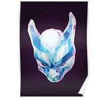 Mewtwo Polygonal Poster