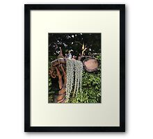 Welcome to Pixie Hollow Framed Print