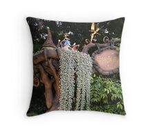 Welcome to Pixie Hollow Throw Pillow
