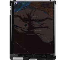 USGS TOPO Map Alaska AK Cordova B-5 355159 2000 63360 Inverted iPad Case/Skin