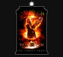 Vale Decem - The Lonely Angel Womens Fitted T-Shirt