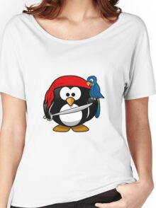 Penguin and Bird !  Women's Relaxed Fit T-Shirt