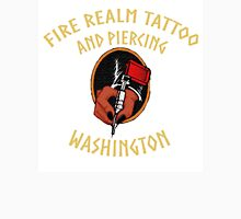 Fire Realm Tattoo and Piercing Unisex T-Shirt