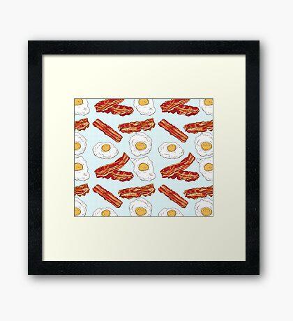 Eggs&Bacon Framed Print
