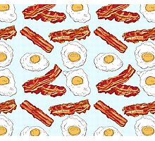Eggs&Bacon Photographic Print