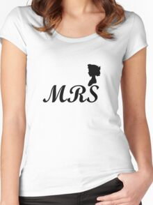 mrs wendy design Women's Fitted Scoop T-Shirt