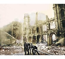 Ruins in London After a Raid Photographic Print