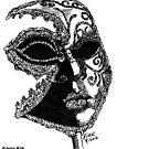 'Venetian Mask' by Jerry Kirk