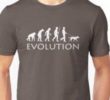 Evolution Dog Walker Unisex T-Shirt