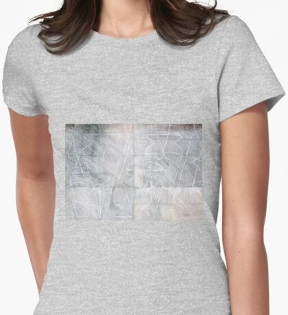 Vessel Scape Womens Fitted T-Shirt