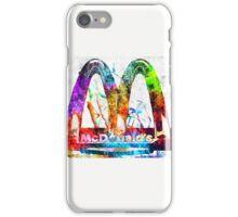 McDonald's Grunge iPhone Case/Skin