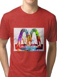 McDonald's Grunge Tri-blend T-Shirt