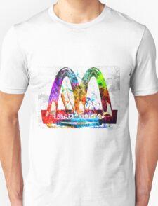 McDonald's Grunge Unisex T-Shirt