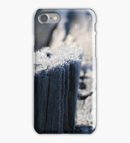 Frosty wood iPhone Case/Skin