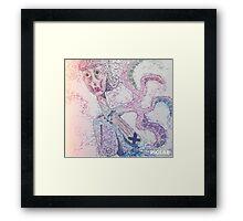 Octopus Lady Framed Print