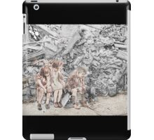 Homeless Children London WWII iPad Case/Skin