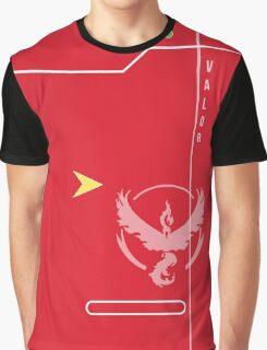 Team Valor Pokedex Graphic T-Shirt