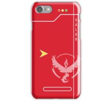 Team Valor Pokedex iPhone Case/Skin