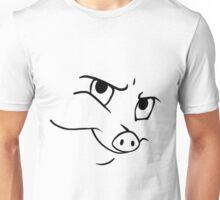 Smug Porky Unisex T-Shirt