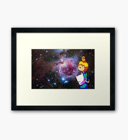 Adventure time Framed Print