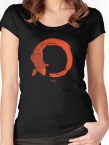 Enso the beauty of imperfection Women's Fitted Scoop T-Shirt