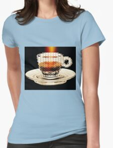 Espresso Intenso Womens Fitted T-Shirt
