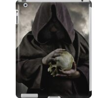 Wizard and an old skull iPad Case/Skin