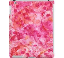Pink and Orange Abstract iPad Case/Skin