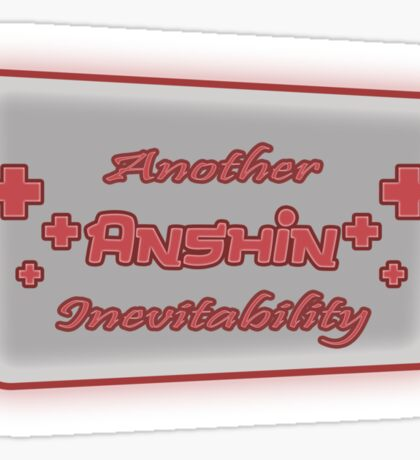 Another Anshin Inevitability Sticker
