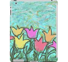 Happy Tulips iPad Case/Skin