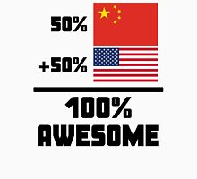Awesome Chinese American Unisex T-Shirt