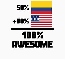 Awesome Colombian American Unisex T-Shirt