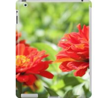 Red Flowers of Budapest iPad Case/Skin