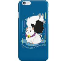 The One who became a Monster iPhone Case/Skin
