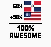 Awesome Dominican American Unisex T-Shirt