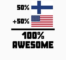 Awesome Finnish American Unisex T-Shirt