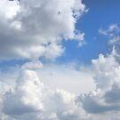 Blue Sky - Budapest, Hungary by Paula Bielnicka