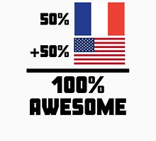 Awesome French American Unisex T-Shirt