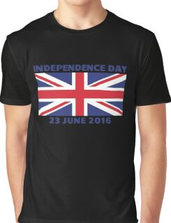 UK Independence Day, 23 June 2016, Brexit Graphic T-Shirt