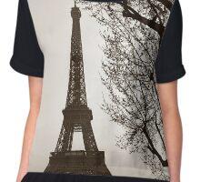 We'll Always Have Paris Chiffon Top